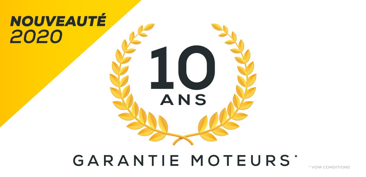 Offre garantie 7 ans motorisation solaire